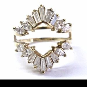 Fine Baguette & Marquise Shape Diamond Yellow Gold